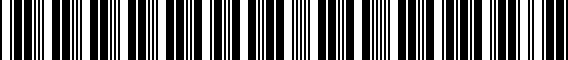 Barcode for 000096306GDSP