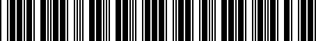 Barcode for 5C0071801N