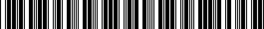 Barcode for 5C5071641GRU