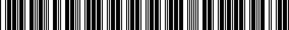 Barcode for 5K0711113GXPR